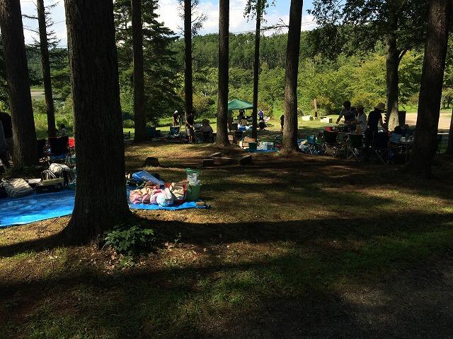 更埴ICから車で30分。キャンプをするなら千曲市大池自然の家キャンプ場が最高に楽しい