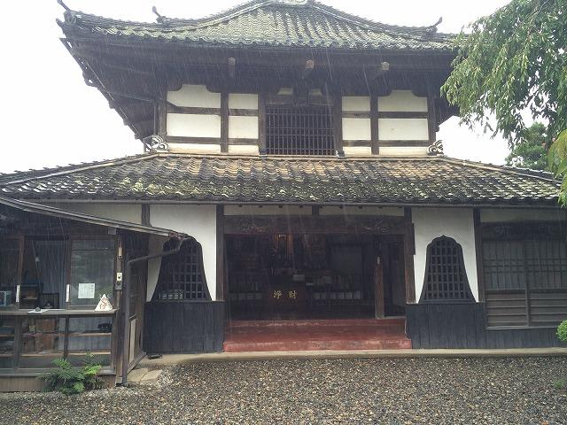 川中島合戦ゆかりの典厩寺には日本一大きい閻魔大王像があった