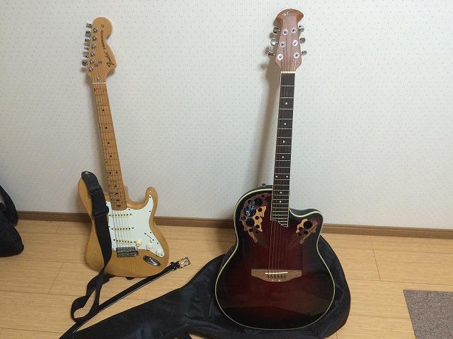 OYAJIBANDOで昔弾いていたギターなどを弾いてみるのはいかが?