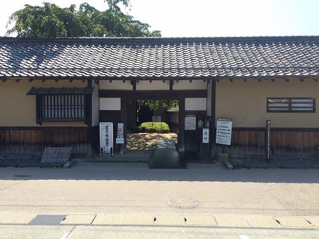 長野市松代町の「旧横田家住宅」は綺麗な庭園がある国の重要文化財である