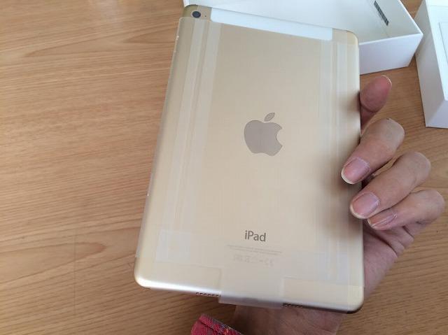 とうとうiPad mini4 SIMフリーの64GBが届いたので早速開封してみた