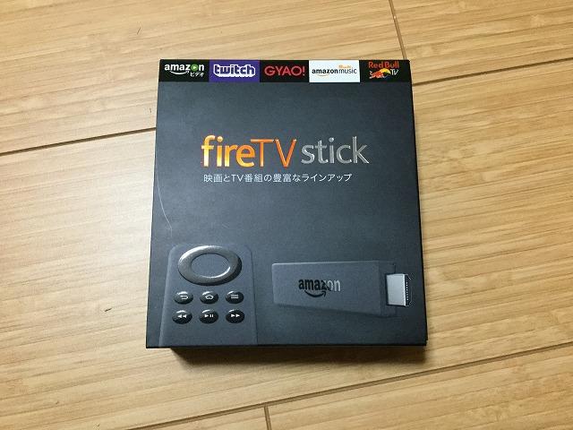 Amazonのfire TV stickが家に届いた!早速TVにつなげてみたがプライム会員ならこれは買いだ!