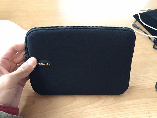 iPad mini4を持ち運ぶ際に、衝撃や破損から護る軽量スリーブバッグを買ってみた