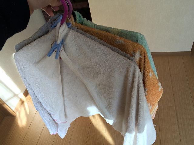 バスタオルを洗う頻度ってどのくらい?放置しておくとカビカビになっちゃうよ