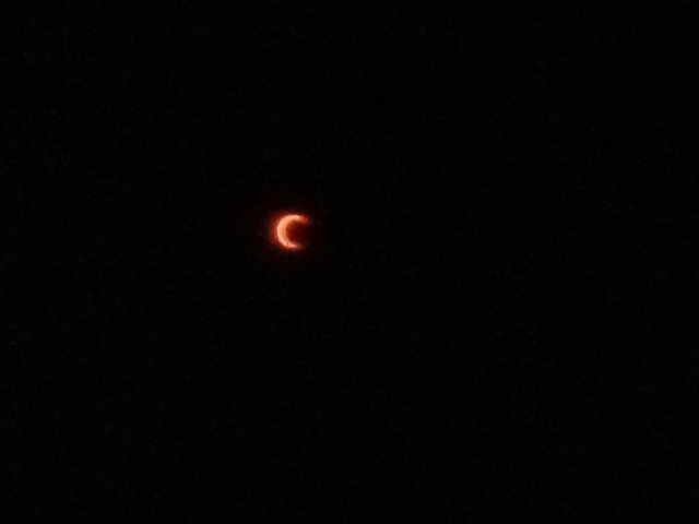 長野で金環日食を2012年に見たときの写真と記録を公開