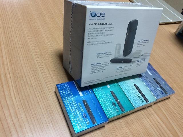 電子タバコのiQOS(アイコス)をサークルKで4600円引きで買い、吸ってみた感想