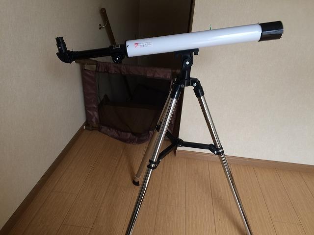 初心者向け天体望遠鏡「スコープテック ラプトル50」を買って月を見てみた