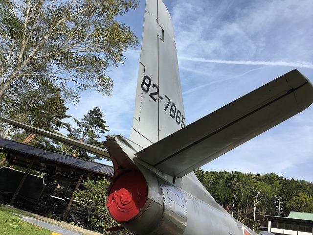 戦時中のジェット戦闘機が多数展示してある聖博物館の屋外展示場に行ってみた