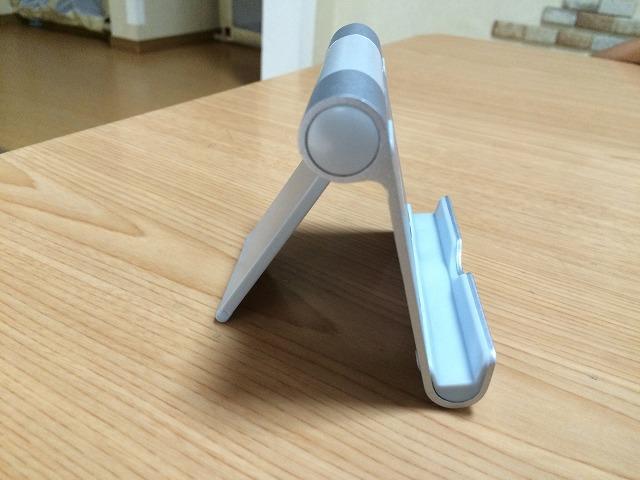 iPad mini、iPadProのスタンドはこれで決まり!角度が細かく調整できる便利なスタンド