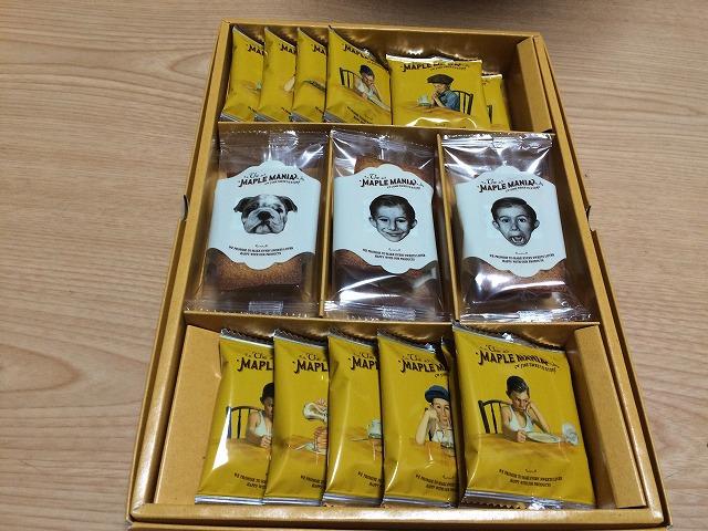 東京駅でお勧めお土産人気NO.1のメイプルマニアを買って食べてみた