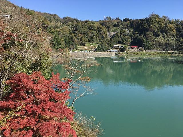 長野の観光スポット久米路峡の紅葉を見に行ってきた。絶景也