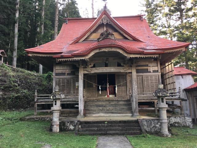鬼無里の白髯神社に行ってみた!国の重要文化財に指定されている神社