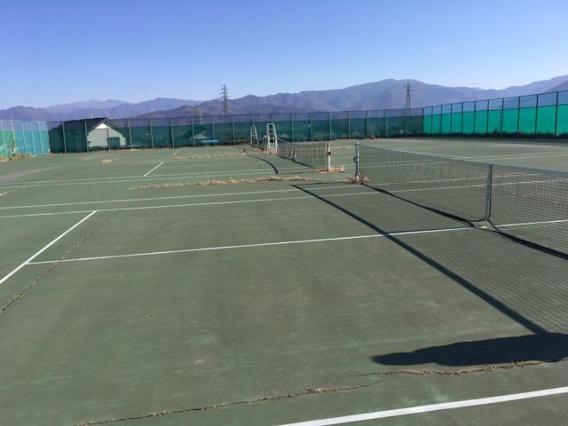 長野市でテニスコートを借りる方法と手順。篠ノ井テニスコートを借りてみた