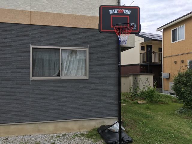 自宅にYouTenのバスケットゴールを設置!組み立てから徹底レビュー!