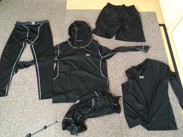 Amazon売れ筋のSeeyaメンズトレーニングウェアを177cm・60kgの自分が着てみた結果・・