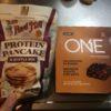 子供の朝ごはんにおススメのプロテインパンケーキとプロテインバーを買って食べてみた